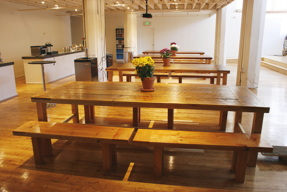 Beautiful Reclaimed Wood Dining Tables And Benches Bay Area Custom Furniture