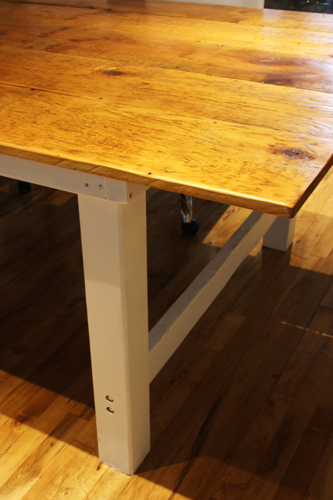 Reclaimed Farmhouse Inspired Conference Table