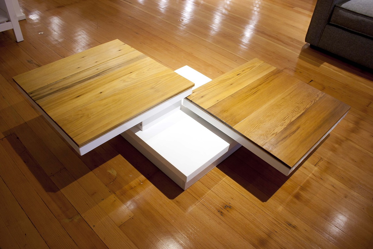 Custom coffee table for San Francisco start-up