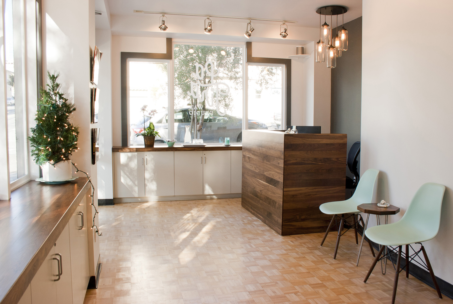 This Is The Beautifully Designed Interior Of La Tira Wax Studio In San  Francisco. Christine, The Owner, Came To Me With An Incredible Vision For  How She ...