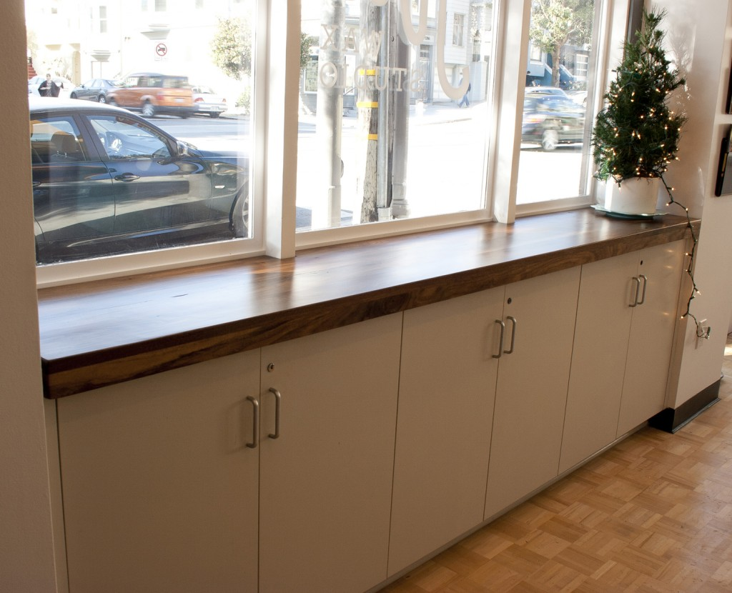Fitted Walnut Countertop