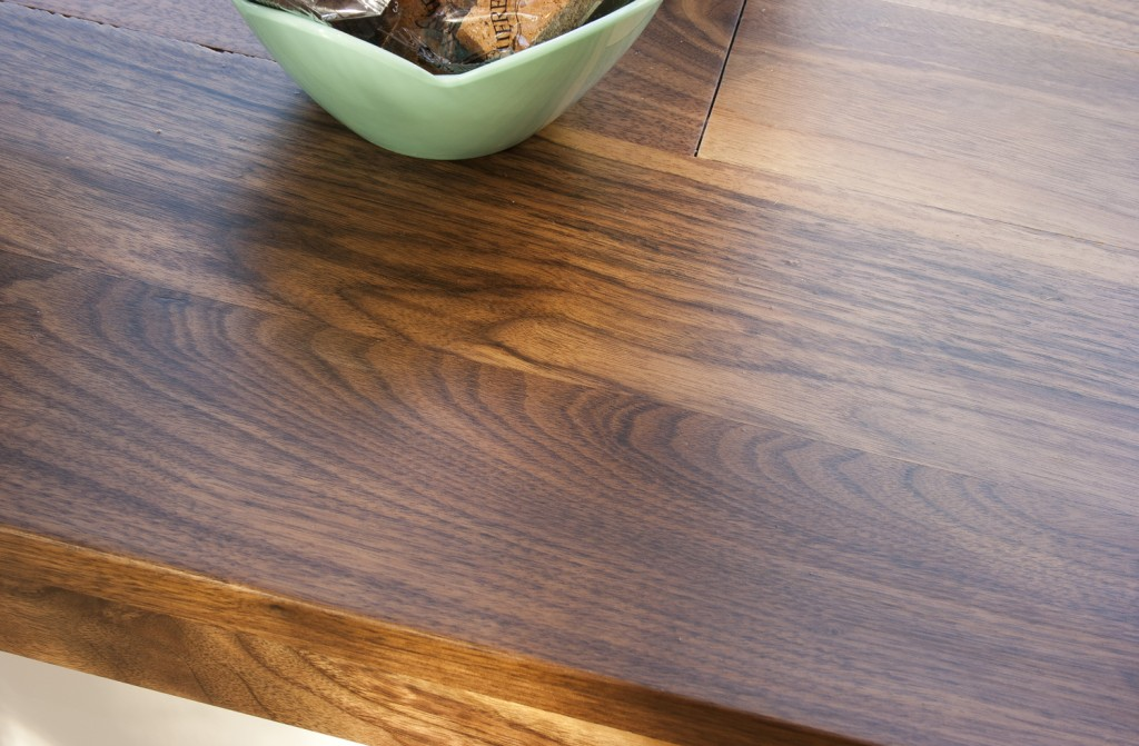 Solid Walnut Countertop Detail