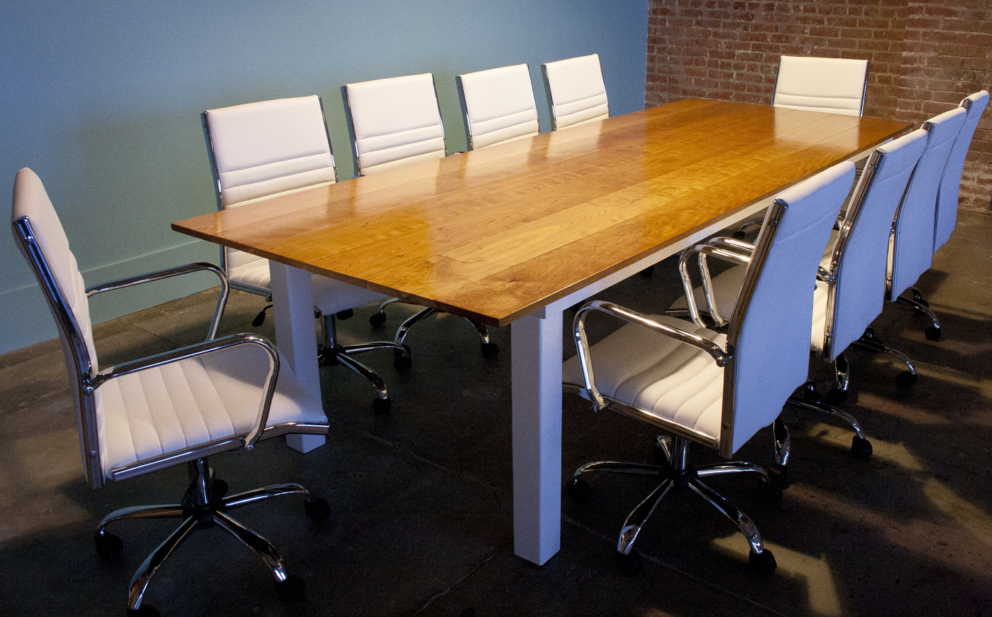 Solid Cherry Conference Room Table Bay Area Custom Furniture - Cherry conference room table