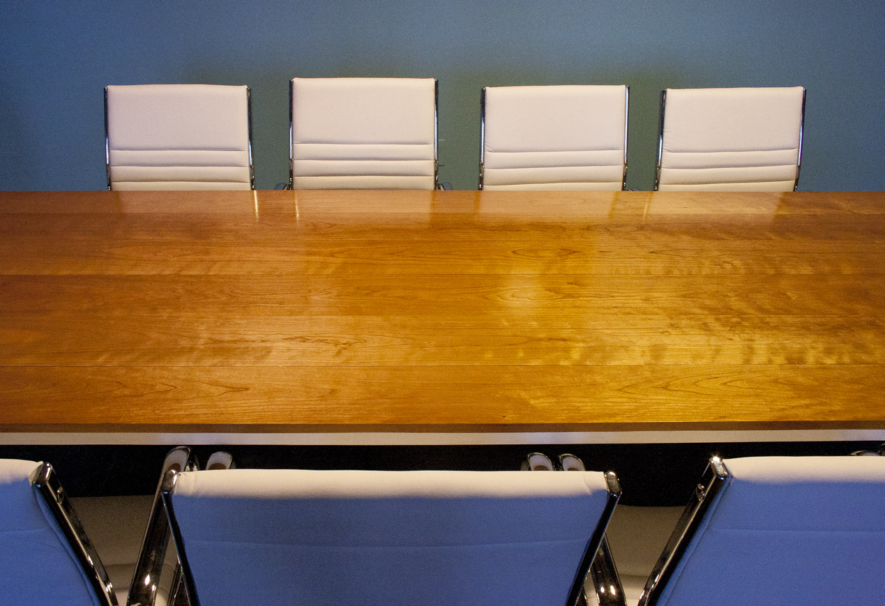 Solid Cherry Conference Room Table Bay Area Custom Furniture