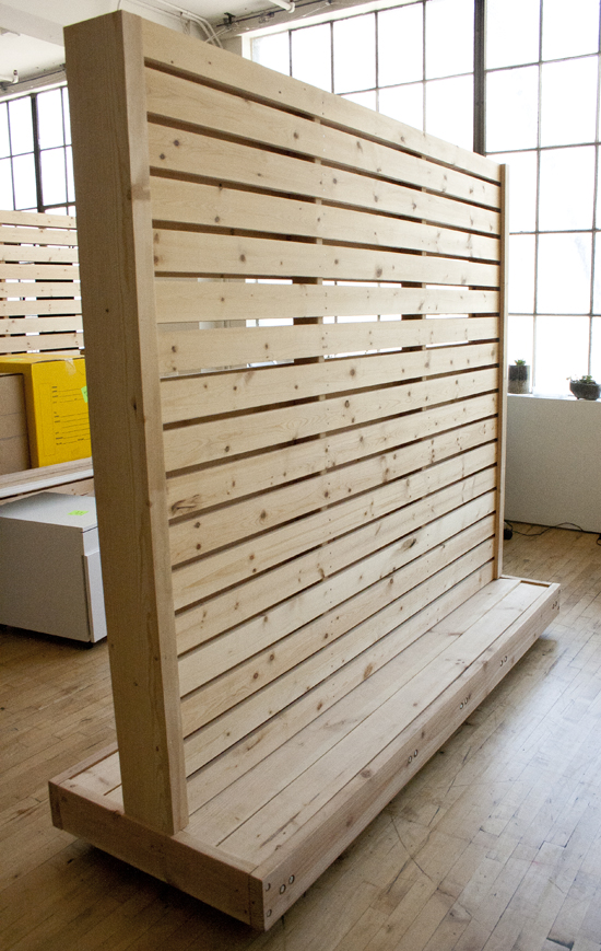 Rolling Wall Partition Bay Area Custom Furniture